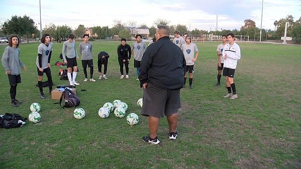 Frank Zimmerman, coach of Oceanside Breakers soccer team ...