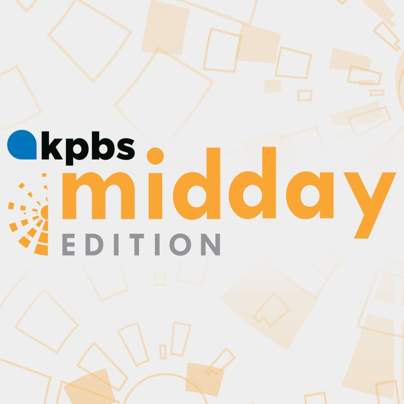 KPBS Midday Edition Segments podcast branding