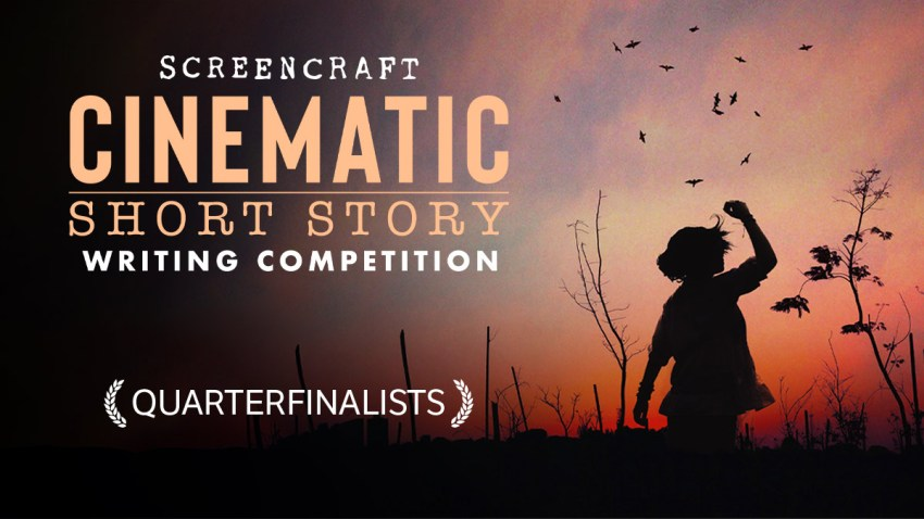HEader for the Cinematic's Short Story ScreenCraft Competition