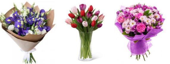 Какой цвет цветов дарят девушке - фиолетовый