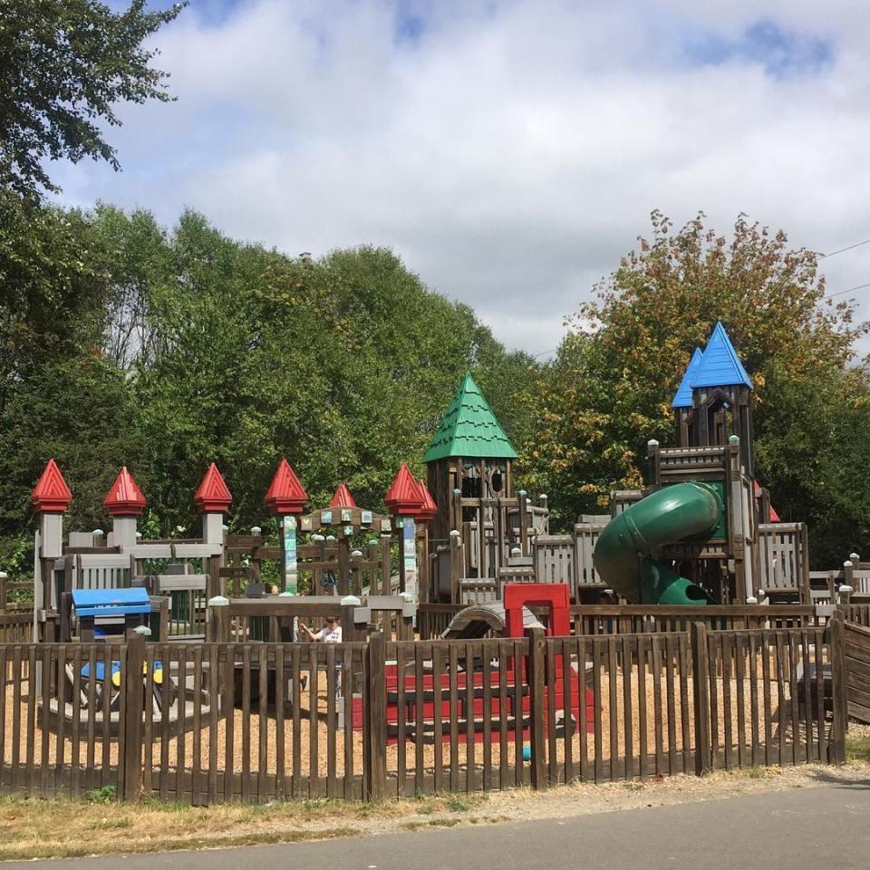 Castle Hill Park in Kirkland, WA