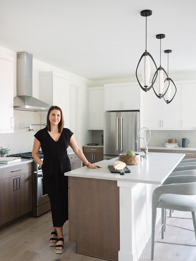 Krissy Peterson in Trailside NW Modern kitchen