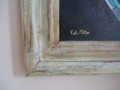 Close-up of frame