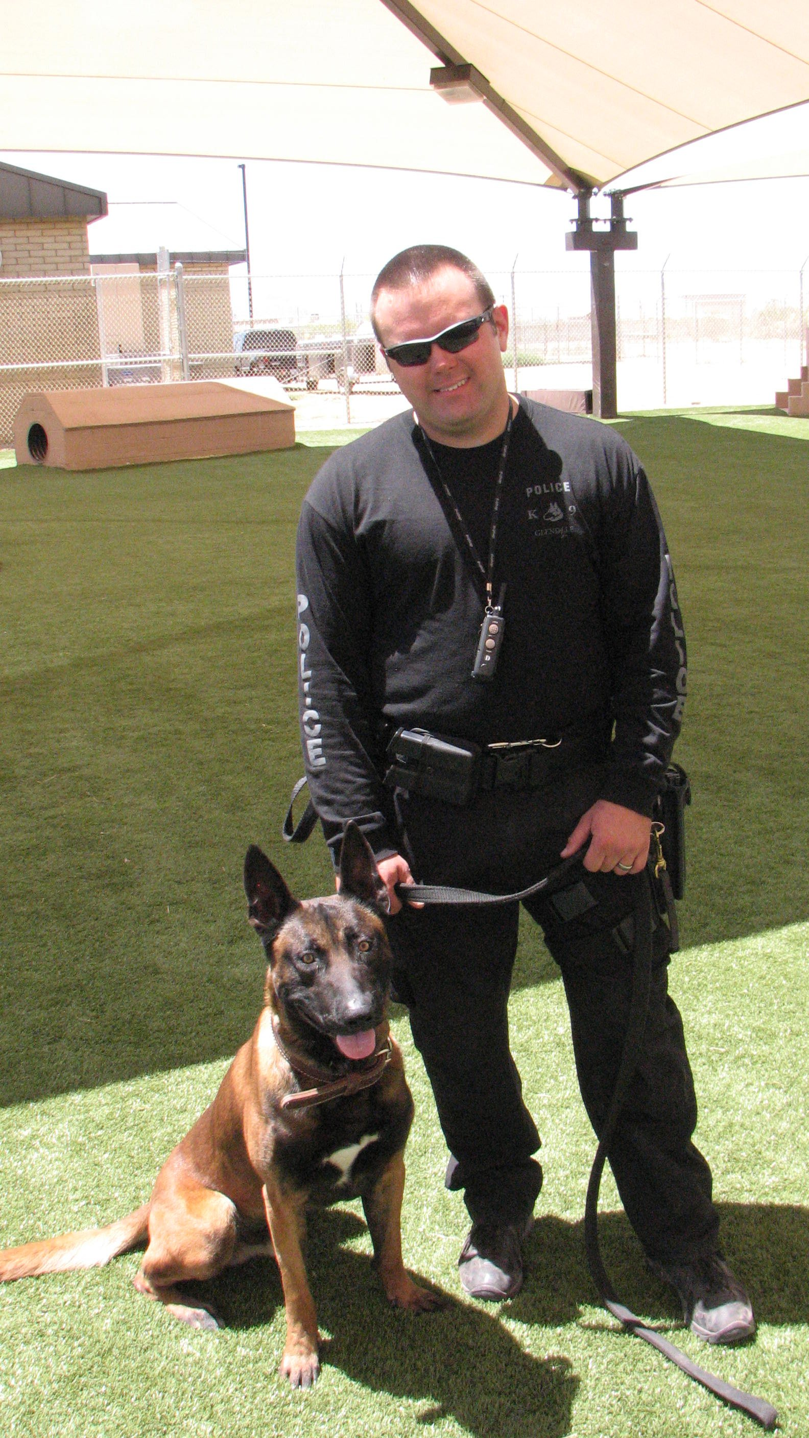 K9 Ronin and his partner.