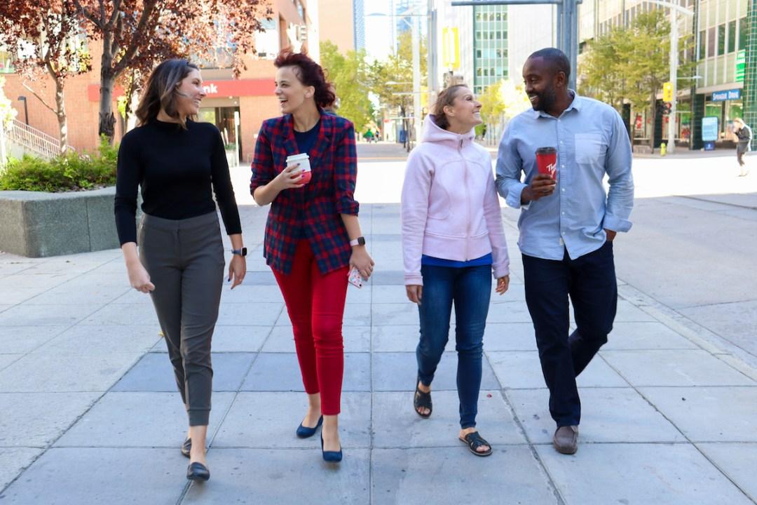 KPI Lifestyle Team Walking