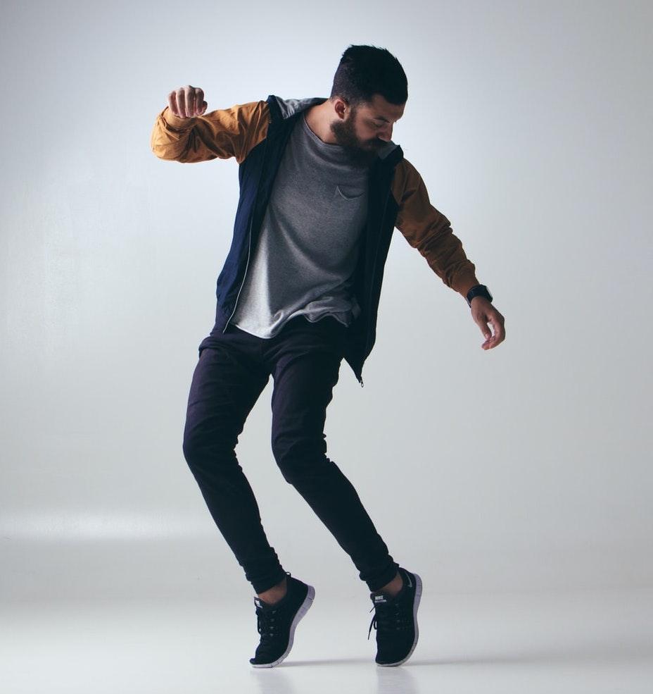 Man Dancing for health