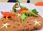 Dinos in Mud