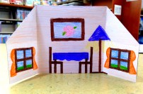 Origami House (Back)