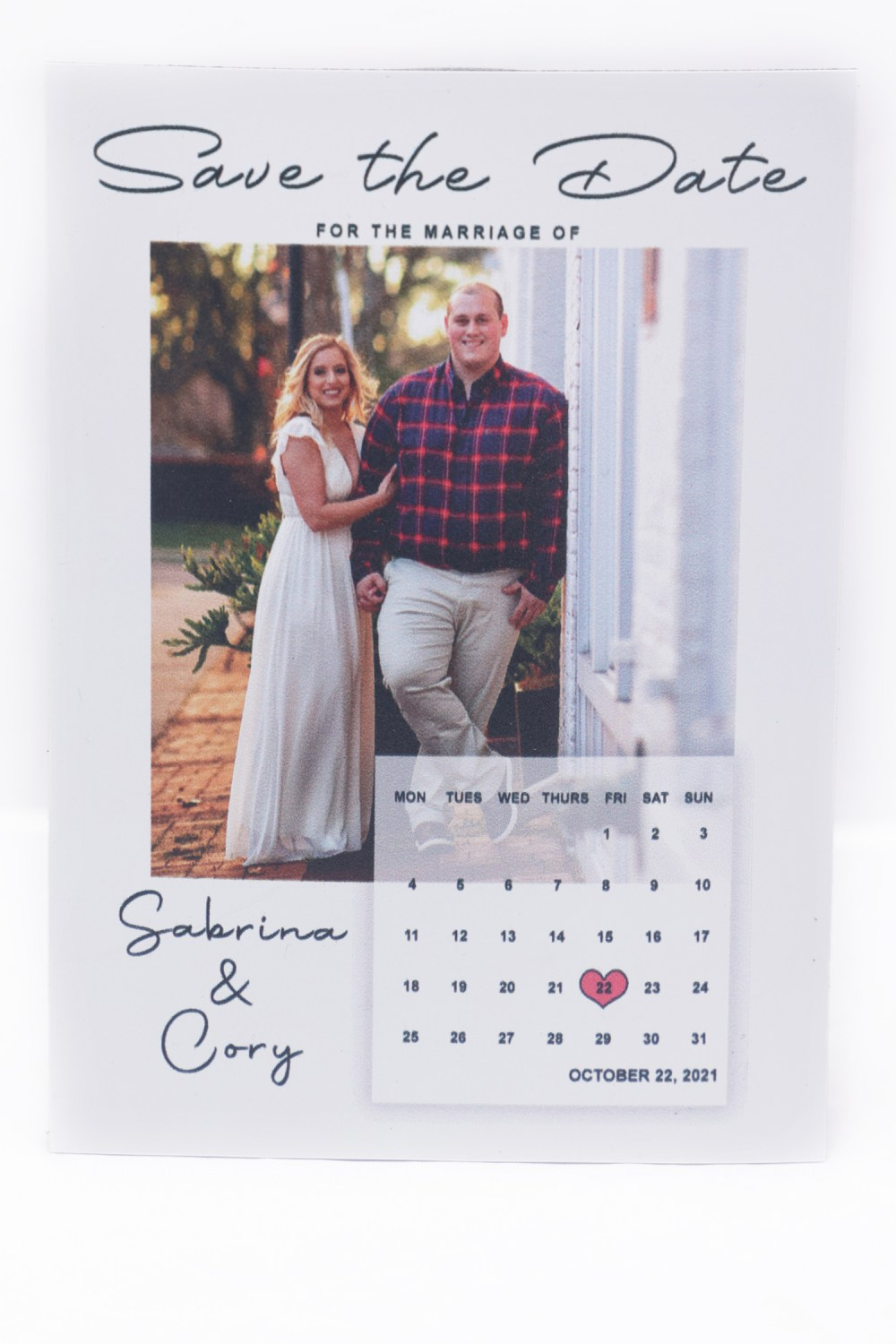 4x5.5 Save The Date Magnet