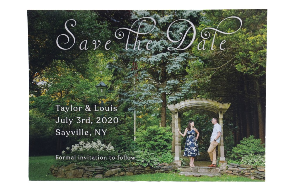 4x5.5 Save the Date Front
