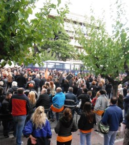 Protest ved indenrigsministeriet