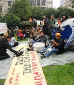 Trommer og protest