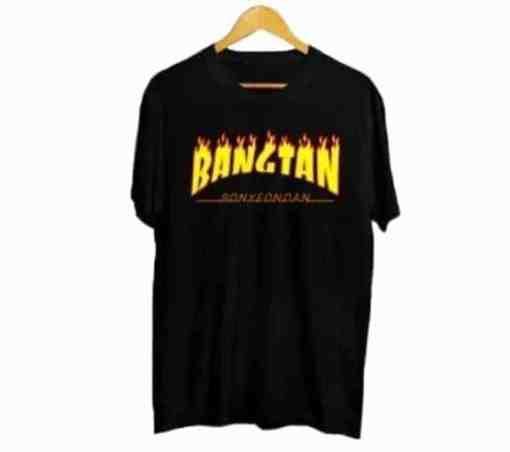 T Shirt BTS Bagtan coréen