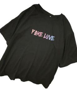 T Shirt BTS Fake Love