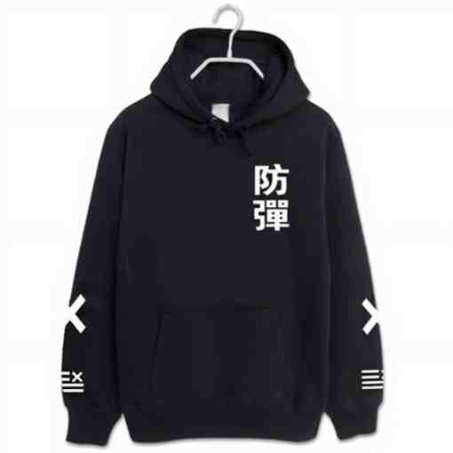 Sweats BTS noir corée du sud