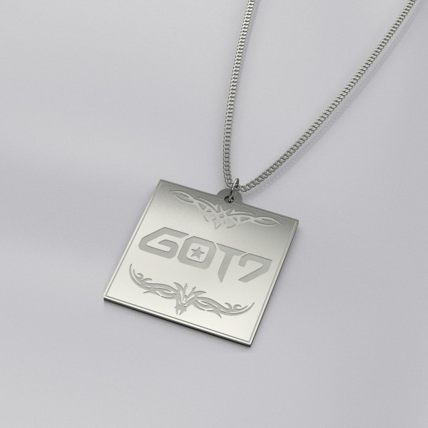 GOT7 Logo Engraved Casual Necklace