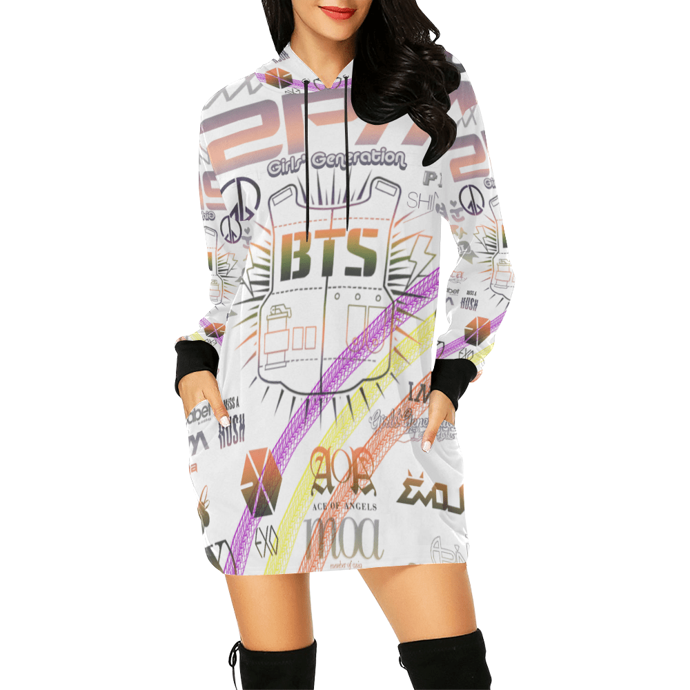 BTS Print hoodie