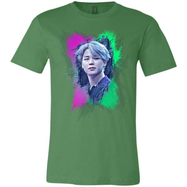 BTS Jimin Image Unisex Jersey T-Shirt
