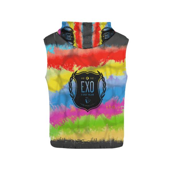 EXO Logo Women's Sleeveless Hoodie