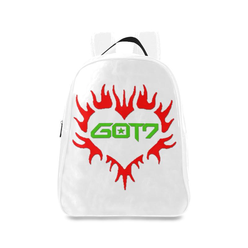 GOT7 Heart Logo School Bag