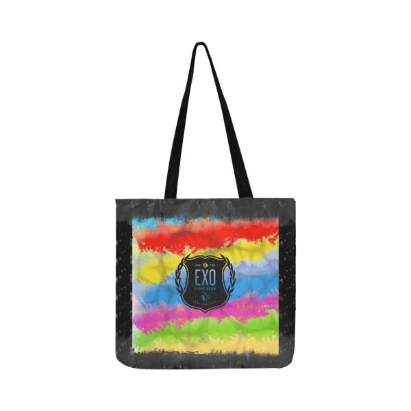 EXO Logo Shopping Tote Bag