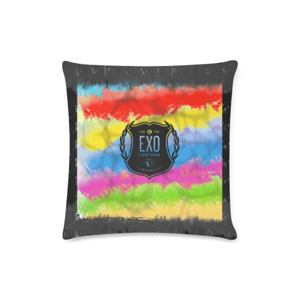 EXO Logo Throw Pillow Cover
