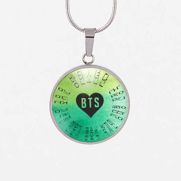 BTS Band Magical Charm Necklace