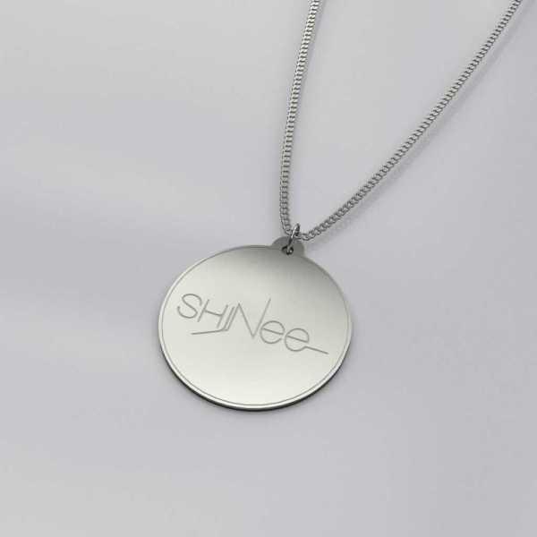 Engraved Shinee Logo Casual Necklace