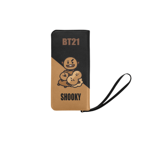 BT21 Shooky Clutch Purse
