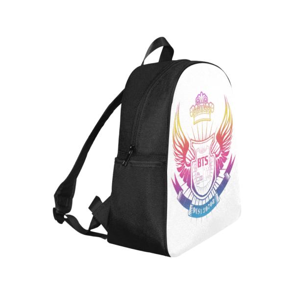 BTS Logo Colorful Backpack