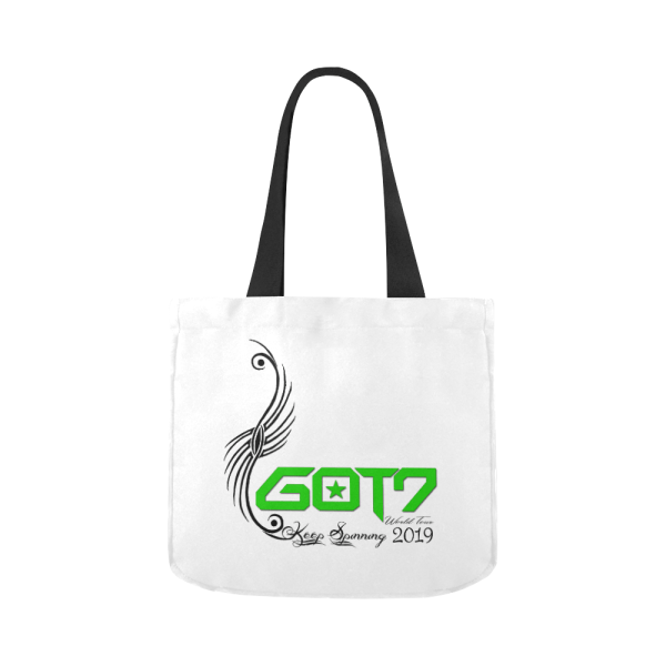 GOT7 World Tour Canvas Tote Bag