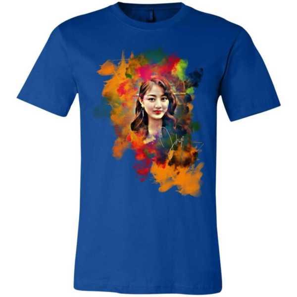 Twice Jihyo Unisex Jersey T-Shirt