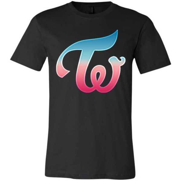 Twice Logo Unisex Jersey T-Shirt