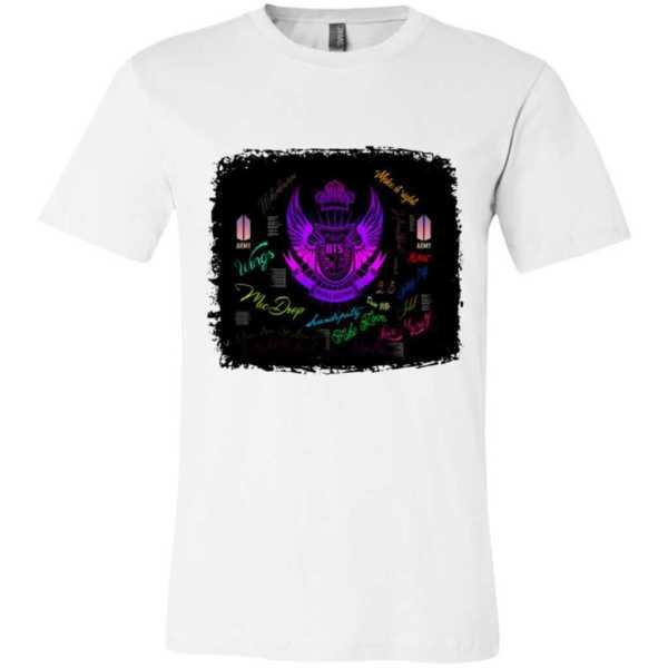 BTS Logo Songs Unisex Jersey T-Shirt