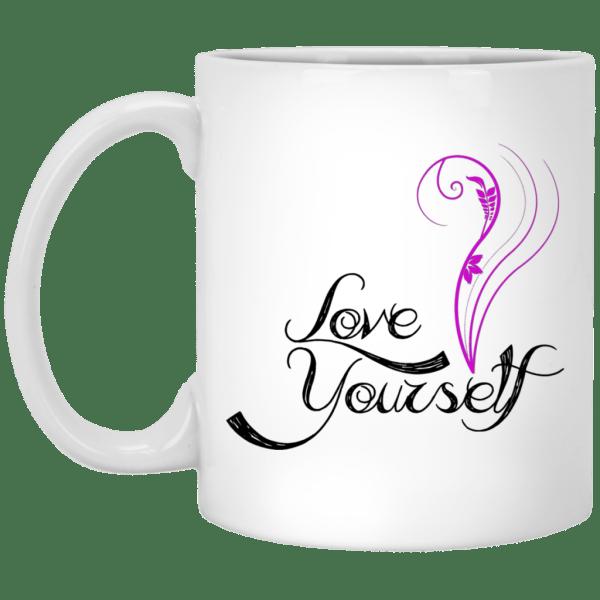 BTS Love Yourself White Mug