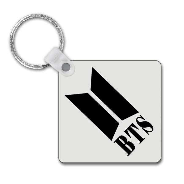 BTS Army Logo Square Keyring