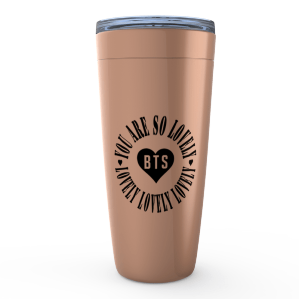 BTS You Are So Lovely Tumbler