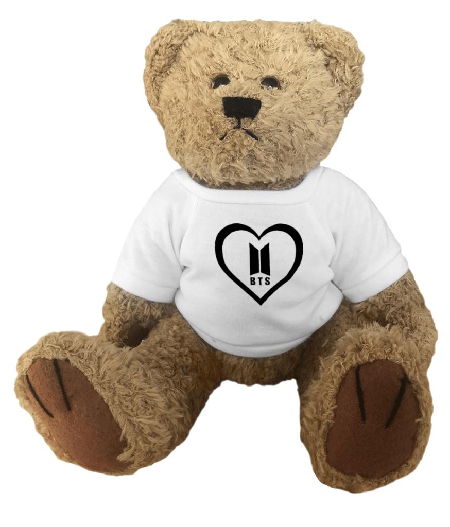 BTS Army Heart Teddy Bear