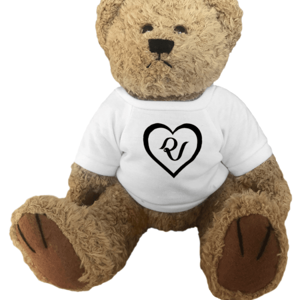 Red Velvet Logo Heart Teddy Bear