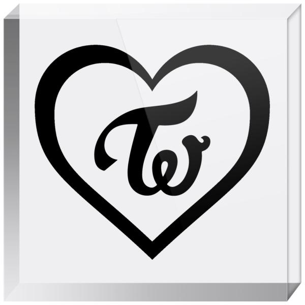 Twice Logo Acrylic Blocks