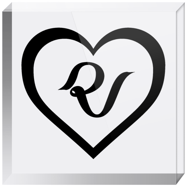 Red Velvet Logo Acrylic Blocks