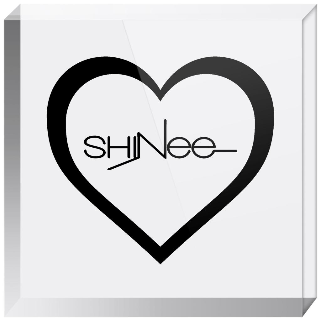 Shinee Logo Acrylic Blocks