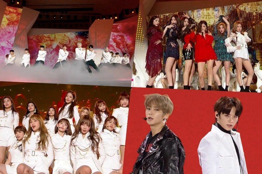 الأداءات الرائعة لحفل جوائز 2018 MAMA في كوريا