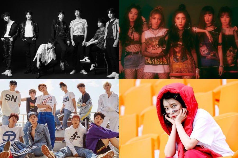 BTS، Red Velvet، PENTAGON وآيو يتم ادراجهم في قائمة بيلبورد 'أفضل 100 أغنية لعام 2018: اختيار النقاد'
