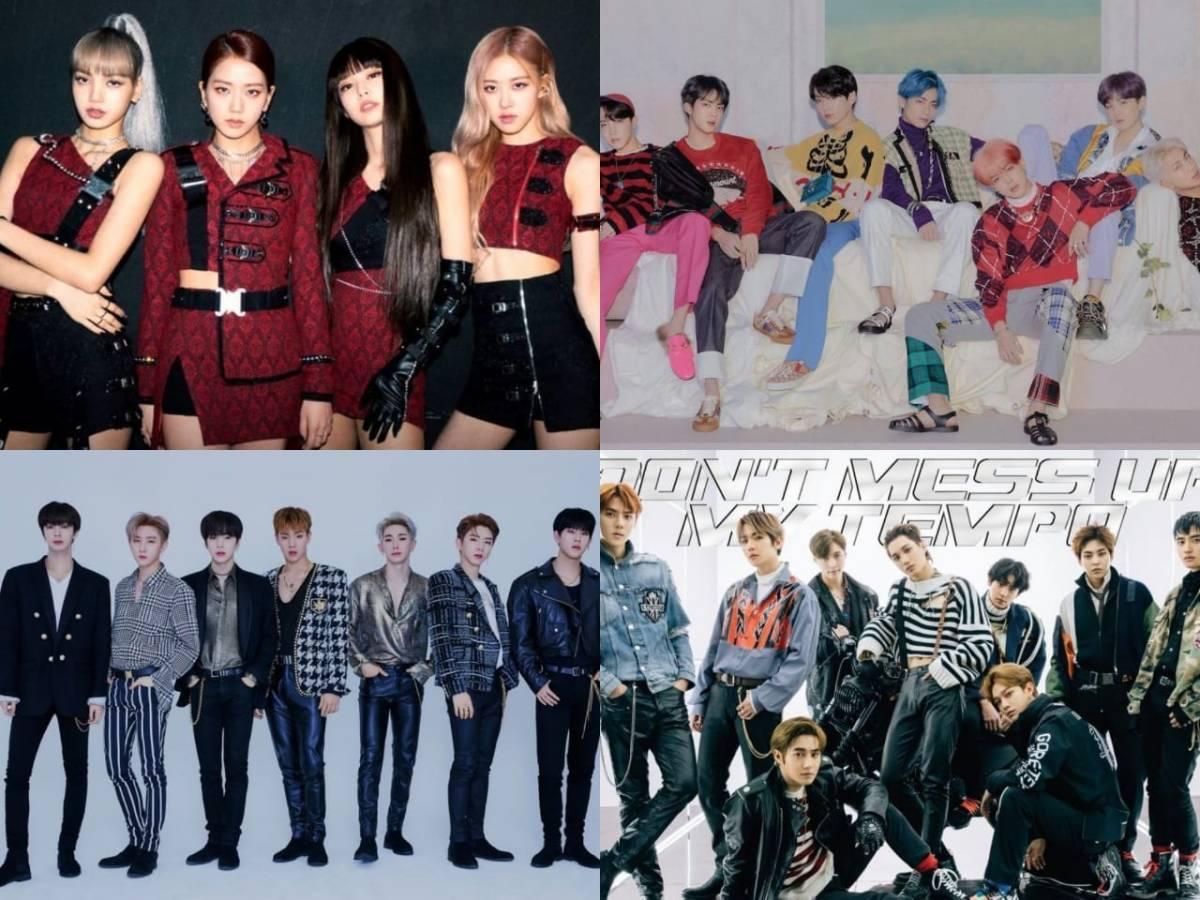 BLACKPINK، BTS، MONSTA X، EXO والمزيد يستولون على مخطط بيلبورد للألبومات العالمية