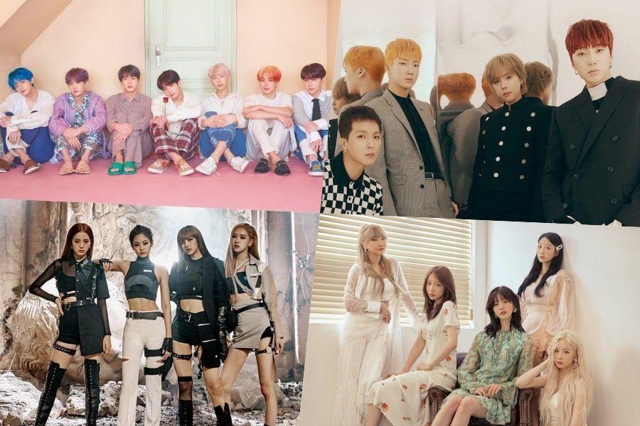 BTS، WINNER، BLACKPINKEXID، تايون والمزيد بحتلون مراكز مرتفعة في مخطط بيلبورد للألبومات العالمية