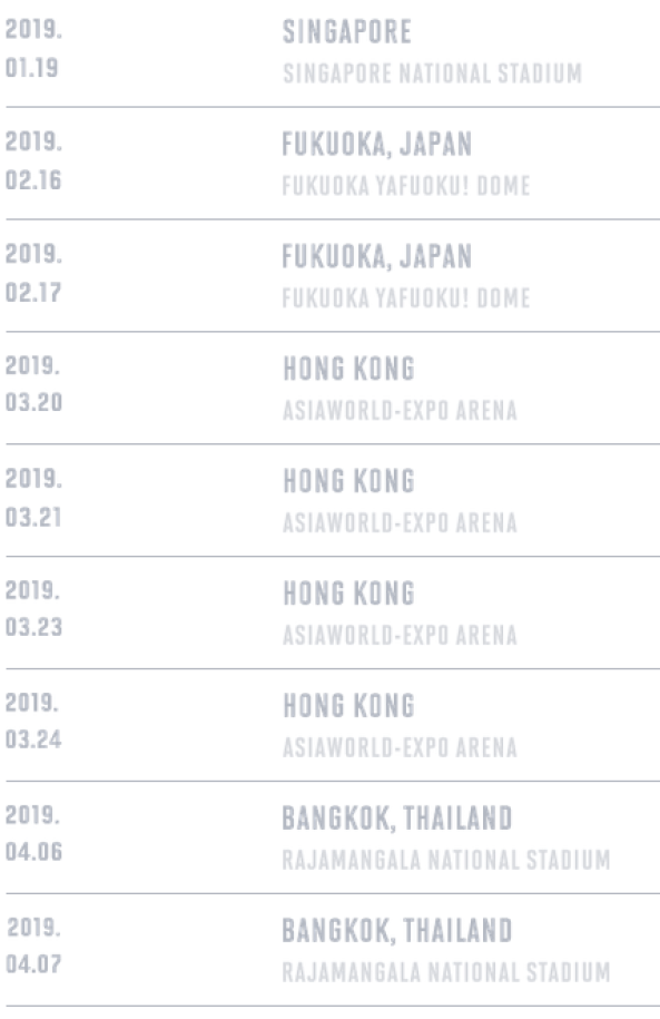 Bts World Tour 2019 Kpop Kstyle