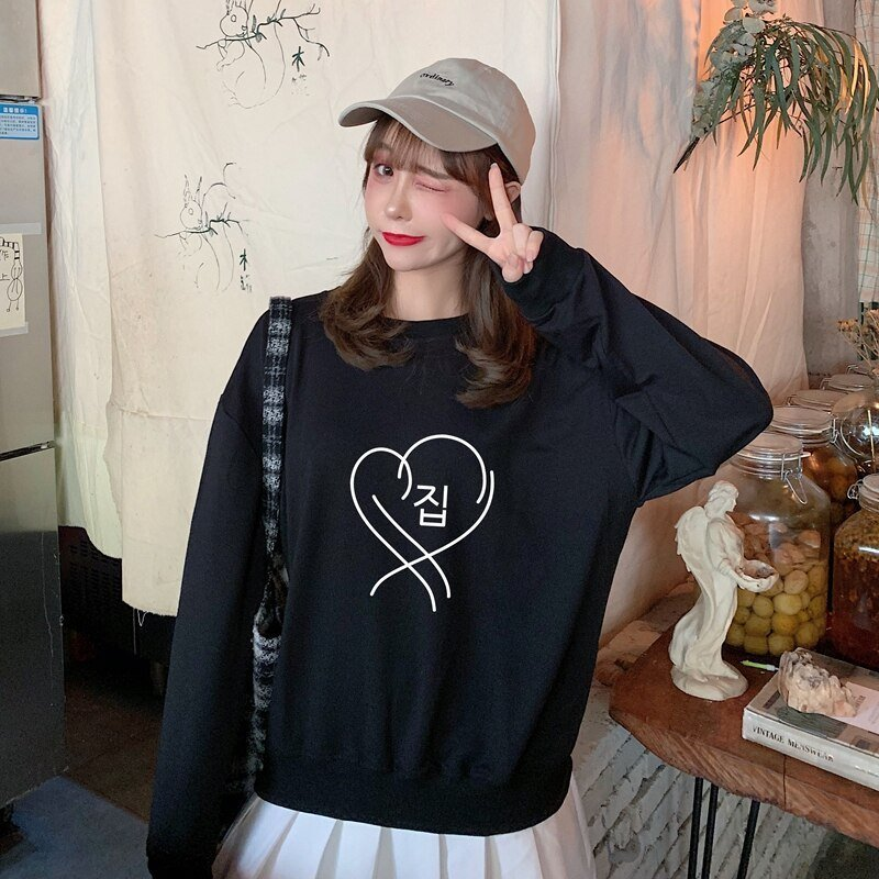 Map of the soul persona Sweatshirts JIMIN RM JUNG KOOK Women hip hop Bangtan Boys Cotton Hoodies Fans Present For Youth Girls