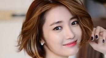Korean Actress Go Jun Hee's currently trending short haircut