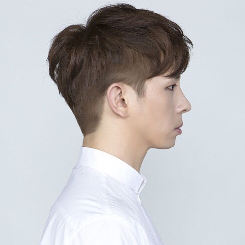 korean kpop asian guy hairstyles short two block haircuts kpopstuff